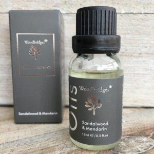 Woodbridge Sandalwood Mandarin Ultrasonic Mist Diffuser Oil