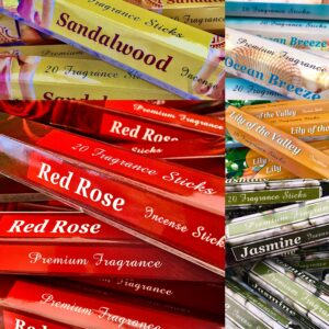 20x Fragrance Incense Stick Group Shot